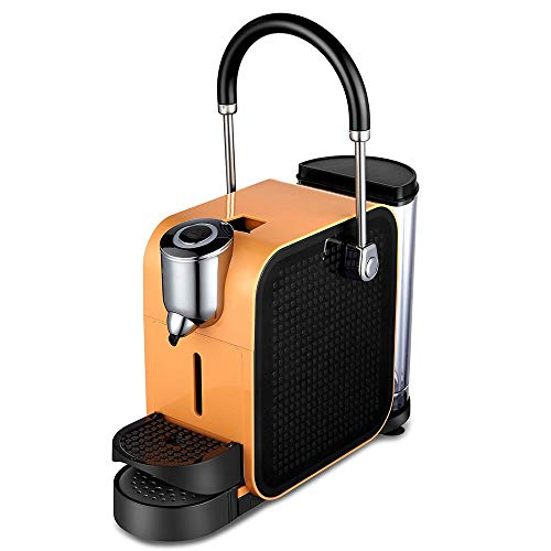 RLI Kaffeekapselmaschine, Druck 20bar 960W, abnehmbarer Wassertank, 700 ml, Push-Pull, Tablett, höhenverstellbar, Kaffeemaschine