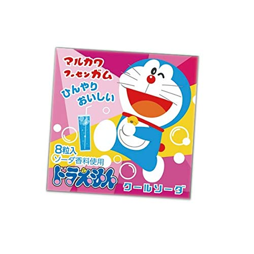 マルカワ マーブルガム 18個入り  (ドラえもん(ソーダ味), 1BOX)