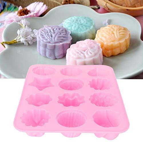 Caiqinlen Molde de Postre, para presionar Pastel para Hacer Pasteles para Hornear en la Cocina casera de Bricolaje para la Tienda para el Estudio