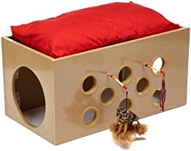 SmartCat Bootsie's Bunk Bed and Playroom for Cats