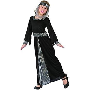 Disfraz de princesa medieval niña - 4 - 6 años: Amazon.es ...