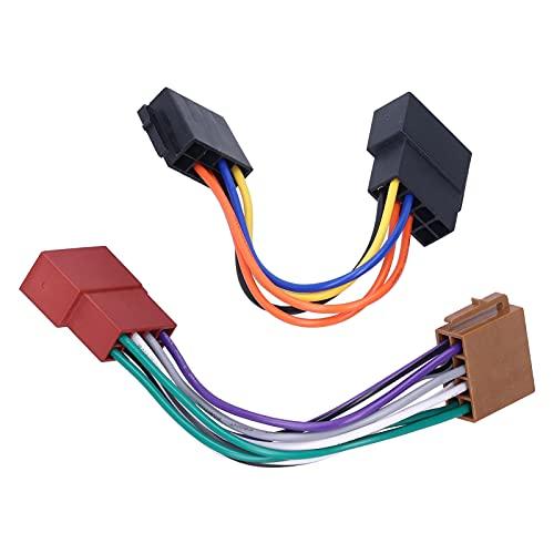 Conector de radio estéreo, instalación simple de alta resistencia confiable del adaptador del cable de radio para el coche