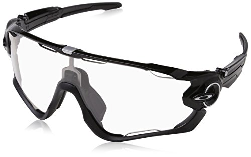 Oakley Sonnenbrille Jawbreaker, Gafas de sol para Hombre, Negro pulido 1