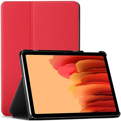 Forefront Cases Funda para Samsung Galaxy Tab A7 10.4 - Galaxy Tab A7 Case Stand - Rojo - Delgado, Auto Sueño Estela Función, Samsung Galaxy Tab A7 10.4 Pulgadas 2020 Funda, Case, Cover