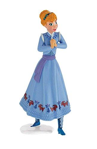 Bullyland Figuras de Frozen de Disney 13431, La aventura de Olaf, figura de Anna