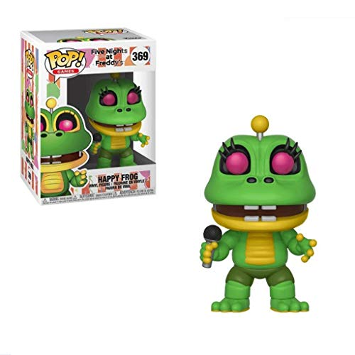 LLFX POP Figuren Fünf Nächte im Freddys: Happy Frog Sammlerstück Action Figure Tiffany Puppe Ornamente 10cm, Multicolor for Boys