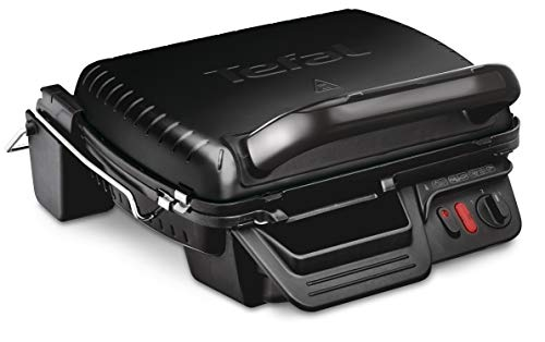 Tefal Ultracompact 3-in-1 GC308840 Versatile, Health Grill, Black, 2000 W, 4-6 Portions