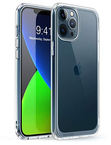SUPCASE Funda iPhone 12 Pro Max 6.7 Pulgadas [Unicorn Beetle Style] Ultrafina Trasera Transparente Carcasa para Apple iPhone 12 Pro Max 2020