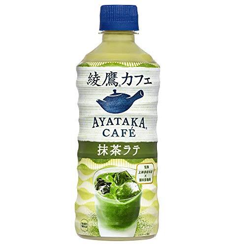 コカ・コーラ 綾鷹カフェ抹茶ラテ440mlPET ×24本