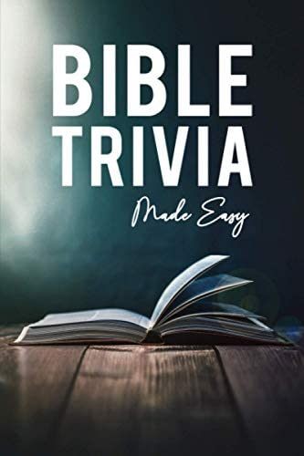 Bible Trivia Made Easy Bible Trivia Games with 1 000 Questions and Answers product image
