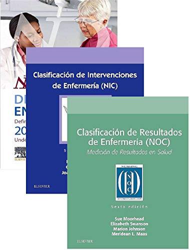 LOTE NANDA - NIC - NOC. DIAGNOSTICOS ENFERMEROS. Definiciones y Clasificación 2018-2020 + Clasificación de Intervenciones de Enfermería (NIC + Clasificación de Resultados de Enfermería (NOC)