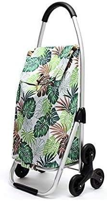 XDDWD Baltimore Mall Aluminum Alloy SALENEW very popular Shopping Cart Folding Portable Car