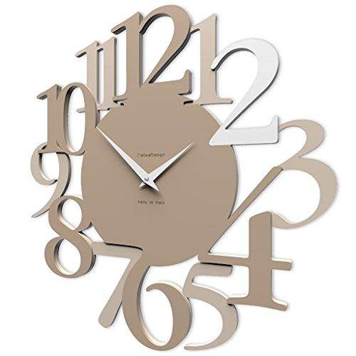 orologio da parete kartell CalleaDesign 45 cm Orologio da Parete Russell caffelatte