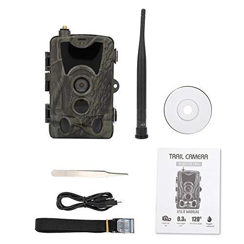 """Wildkamera Fotofalle mit Bewegungsmelder 1080P Full HD 16MP LEDs Jagdkamera 120° Weitwinkel Infrarot 20m Nachtsicht Überwachungskamera Wasserdichtes IP65 Hinterkamera mit 2.4\"""" LCD Display"""