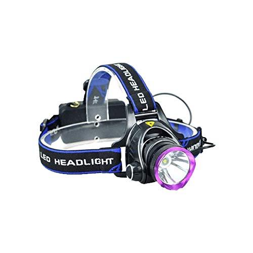 Heigmz qxd - Luces de bicicleta recargables de larga duración, ligeras, compactas, impermeables, para acampar, correr, caminar al perro, ciclismo, camping, lectura, etc
