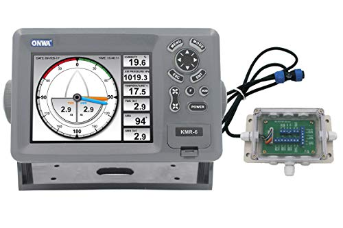 Check Out This ONWA KMR-6: 5.6 Multi-Function Display with NMEA multiplexer (KMR-6 w/KMR-JB)