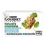 Nestlé Purina Gourmet Nature's Creation Pescado del océano y atún 12 x (4 x 85 g) - Pack de 4