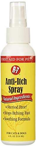 Miracle Care by Miraclecorp/Gimborn R-7 Anti-Itch Spray for Dogs and Cats, 4-Ounce