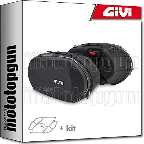 givi soporte + maletas 3d600 compatible con aprilia shiver 900 abs 2019 19 2020 20