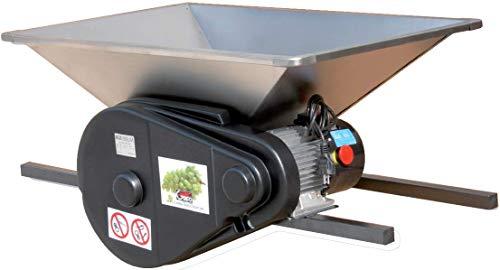 PIGMO Elektrische Obstmühle, 35 Liter, Edelstahlausführung