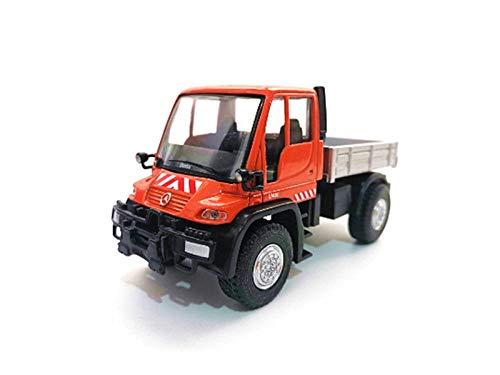 THKZH 1/43 Unimog U400 Geländewagen Aus Aluminiumlegierung Modell 11Cmdiecast Autos,Oldtimer Modellautos,Automodelle Für Erwachsene,Sammlung Modellautos,