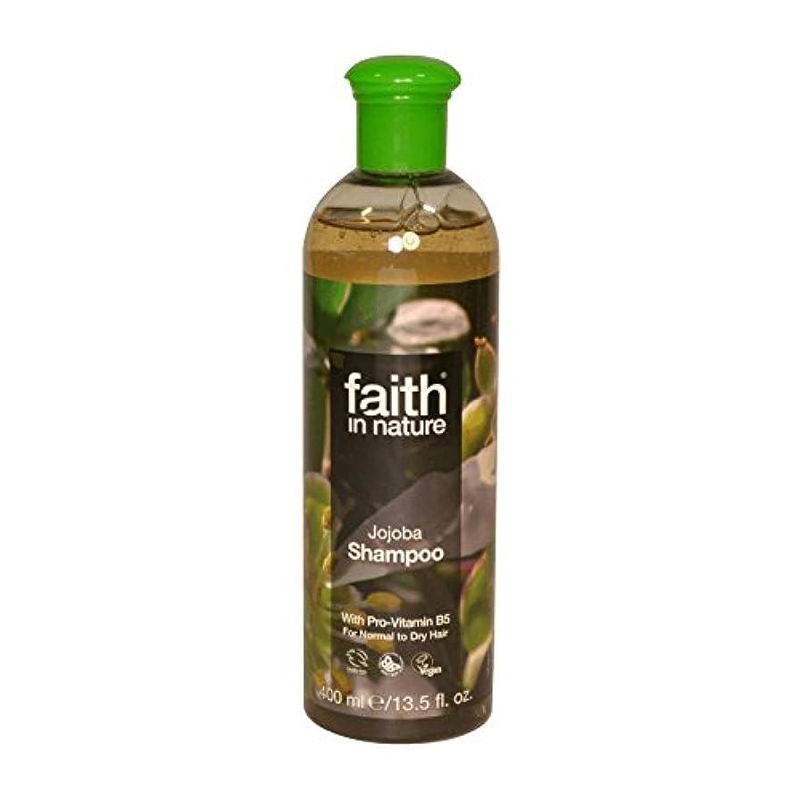 下位申込みカプセルFaith in Nature Jojoba Shampoo 400ml (Pack of 6) - 自然ホホバシャンプー400ミリリットルの信仰 (x6) [並行輸入品]