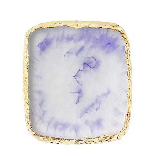 Nail Art Peinture Gel Palette Manucure Outil, Cosmetic Artist Mixing Idéal pour la peinture, faire du nail art (violet)