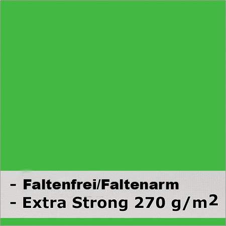 METTLE Faltenfreier Stoffhintergrund super Strong (270g/m2) Chroma Key 300 x 600 cm grün
