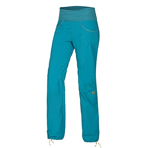 Ocun Noya Pants Women Größe S Blue/Yellow