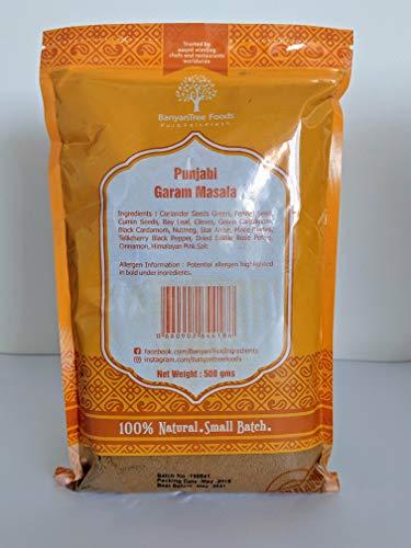 Punjabi Garam Masala (vincitore del Great Taste 2017) Grande confezione ricamabile 500g
