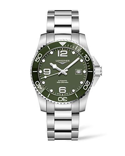 Longines orologio uomo HydroConquest verde 41mm automatico acciaio...