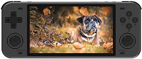 Console Giochi Portatile Powkiddy RGB10 Max con 10000 Giochi, Bluetooth e Wifi Console Portatile Giochi Retro Supporta PS/N64/FC,RK3326 1.5GHz,Console per Videogiochi 5'IPS