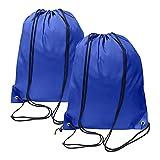 2 unidades mochila con cordón para gimnasio, unisex, bolsa de...