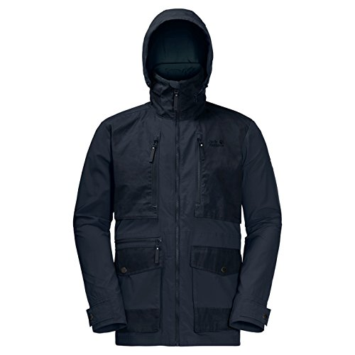 Jack Wolfskin Mens Barstow UV Protective Lightweight Fast Dry Jacket