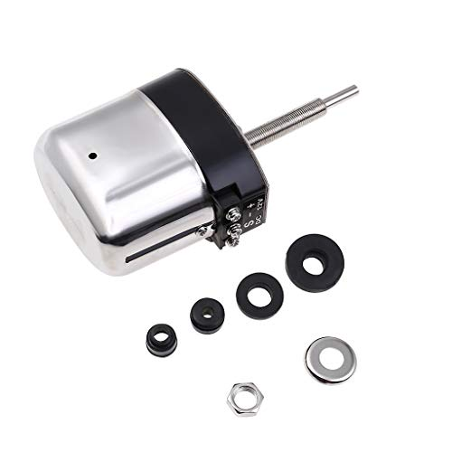 Becobe Stainless Windshield Wiper Motor Kit Street Hot Rod Boat Car Electronics Car Exterior Accessories Car Repair Part