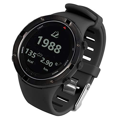 Fesjoy Outdoor-Uhr mit GPS Herzfrequenz Triathlon Sportuhr Höhenmesser Barometer Uhr