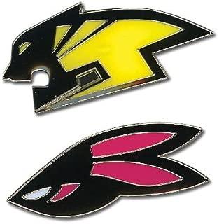 Tiger & Bunny Wild Head Logo Pin Set of 2