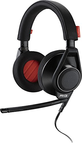 Plantronics 201940-05 Rig Flex Headset schwarz