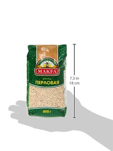 大麦(丸麦) 800g【ハラル認証品】Крупа ячменная перловая 800 г , PEARL BARLEY, HALAL, KOSHER, NON-GMO