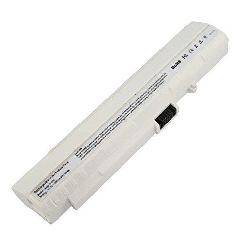 ASUNCELL Batería para Acer Aspire One 10.1' 8.9' (White) Aspire One Pro 531f 531h A110 A150 D150 D250 P531h Series Aspire One ZG5 Gateway: LT1001J LT2000 UM08B71 UM08B72 UM08B73 UM08A31 UM08A73