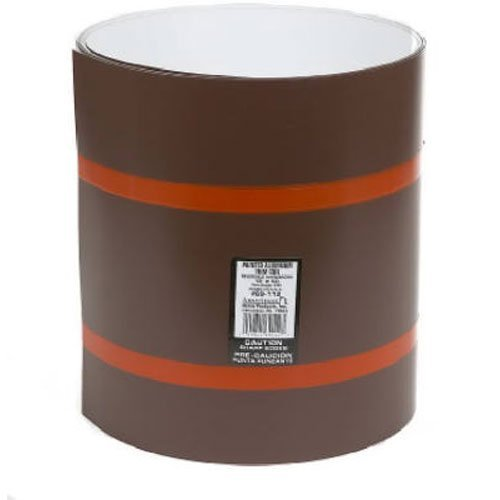 AMERIMAX HOME PRODUCTS 69414 14x10 Trim Coil, White/Brown by Amerimax Home Products