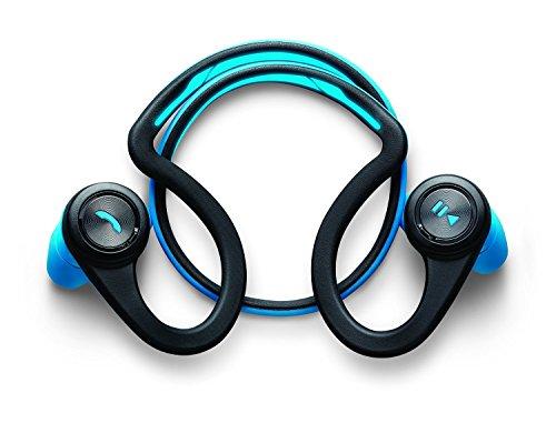 Plantronics BackBeat Fit fascia per collo Wireless Nero, Verde–cuffie con fascia per collo, Nero, Verde, reproducir/pausar, Wireless, Micro-USB, A2DP)