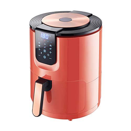 3.5L Oil-Free Healthy Air Fryer, Intelligent Temperatuur Verstelbare Frieten Elektrische Fryer Cooker Fryer Oven Low Fat Hot Air Fryer,Red