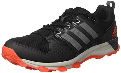 adidas Galaxy Trail M, Zapatillas de Running para Asfalto para Hombre, Rojo (Core Black/Grey Two/Energy), 48 EU