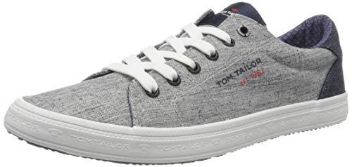 TOM TAILOR 8081301, Zapatillas para Hombre, Gris 00011, 40 EU