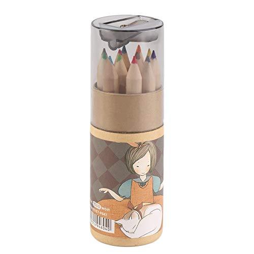enfants et bureau Argent/é Toyvian Lot de 10 taille-crayons en m/étal en acier pour /étudiants