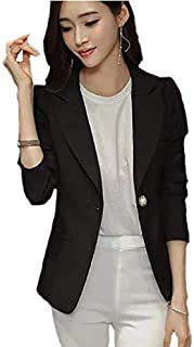 Spring and summer new women's jacket ladies large size fashion casual slim long sleeve small suit