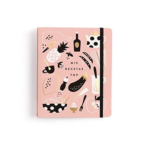 Charuca Libro Para Tus Recetas, Rosa (CLS01)