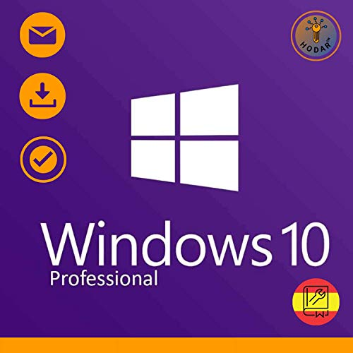 Windows 10 Pro (Professional) 32 / 64 bits Licencia | Windows 10 Home Upgrade | Clave de Activación Original | Español |...