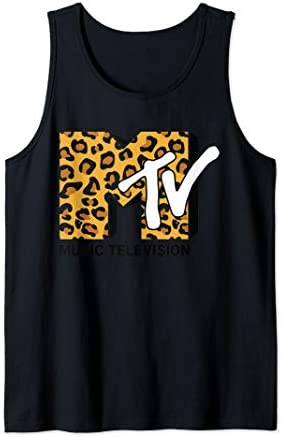 Classic Mtv Logo Leopard Print Tank Top product image